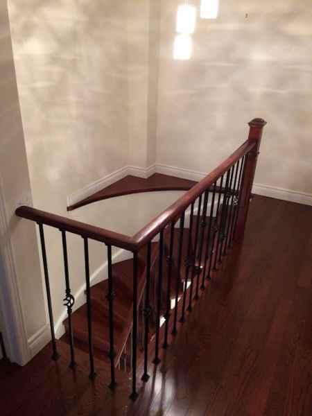 cherry stairs and floor oakville